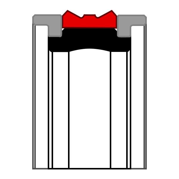 Уплотнение поршня K09-D
