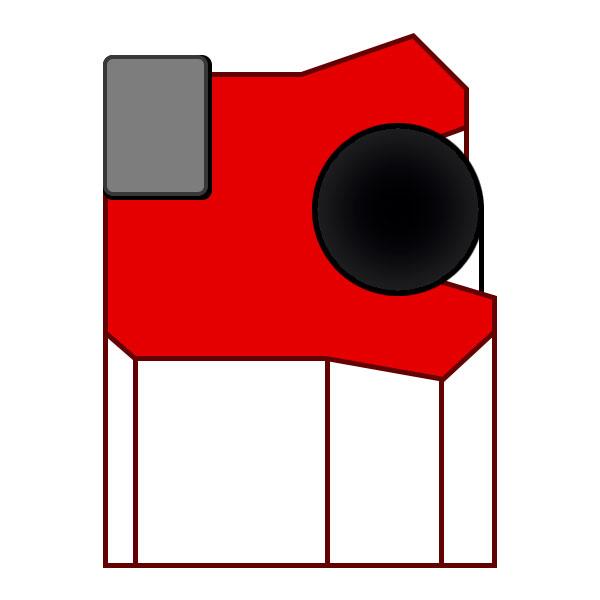 Уплотнение поршня K04-P