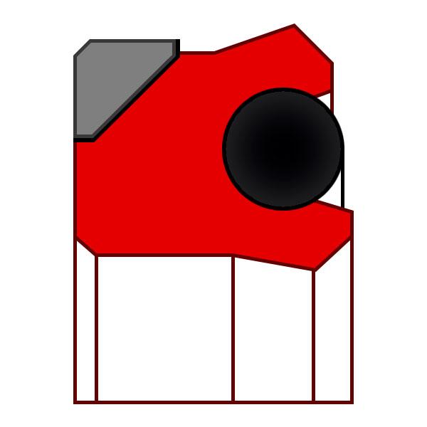 Уплотнение поршня K04-PD