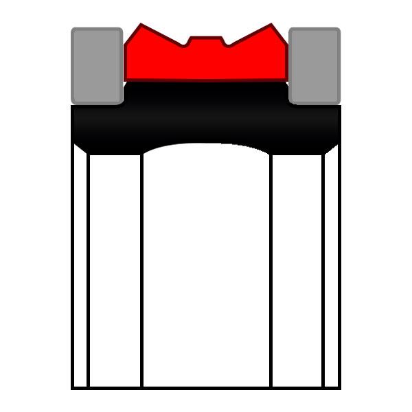 Уплотнение поршня K23-D