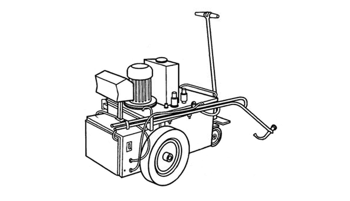 Битумно-мастичная машина СО-195