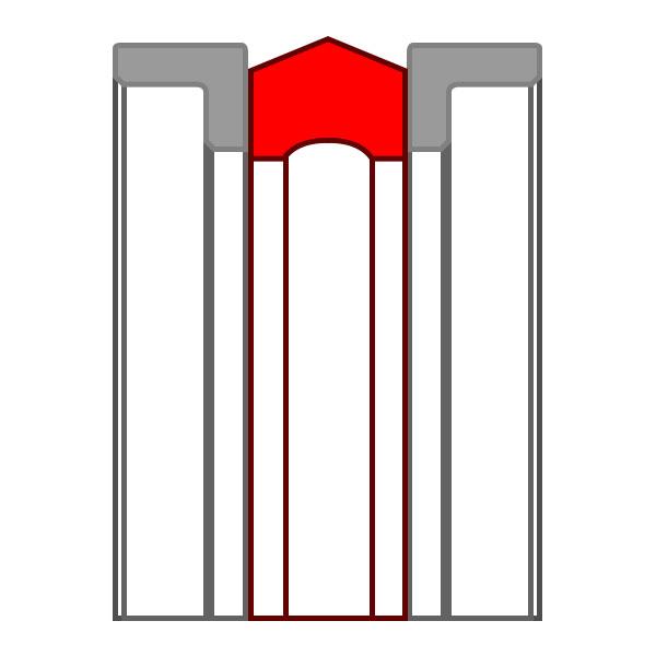 Уплотнение поршня K17-P (K17-R)